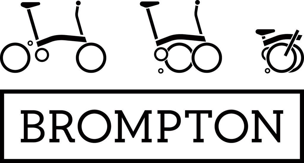 Brompton bike illustration